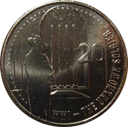 20 Cents - Elizabeth II (The Unknown Soldier) – reverse