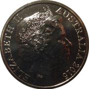 20 Cents - Elizabeth II (ICC Cricket World Cup) – obverse