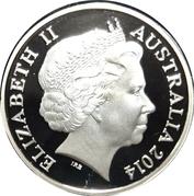 1 Dollar - Elizabeth II (4th Portrait - 30 Years Mob of Roos) -  obverse
