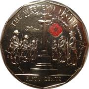50 Cents - Elizabeth II (The Western Front) – reverse