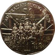 50 Cents - Elizabeth II (Australian Flying Corps) -  reverse