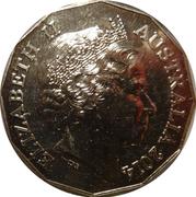 50 Cents - Elizabeth II (Boer War) – obverse
