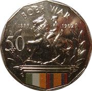 50 Cents - Elizabeth II (Boer War) – reverse