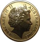1 Dollar - Elizabeth II (4th Portrait - Polar Series - Polar Bear) – obverse