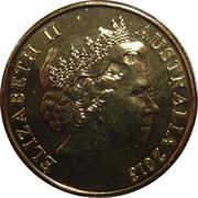 1 Dollar - Elizabeth II (4th Portrait - 40th Anniversary of the Sydney Opera House) -  obverse
