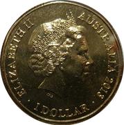 1 Dollar - Elizabeth II (4th Portrait - AFL Premiers Hawthorn 2013) -  obverse