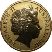 1 Dollar - Elizabeth II (4th Portrait - Corroboree Frog) -  obverse