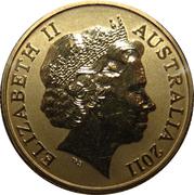 1 Dollar - Elizabeth II (4th Portrait - Kookaburra) -  obverse