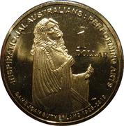 1 Dollar - Elizabeth II (4th Portrait - Inspirational Australians - Dame Joan Sutherland) -  reverse
