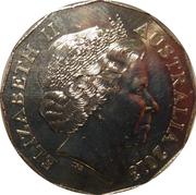 50 Cents - Elizabeth II (Centenary of Australian Banknotes) -  obverse