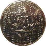 50 Cents - Elizabeth II (Centenary of Australian Banknotes) -  reverse