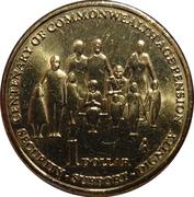 1 Dollar - Elizabeth II (4th Portrait - Pensions) -  reverse