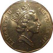 50 Cents - Elizabeth II (Decimal Currency) -  obverse