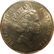 50 Cents - Elizabeth II (Year of the Family) – obverse