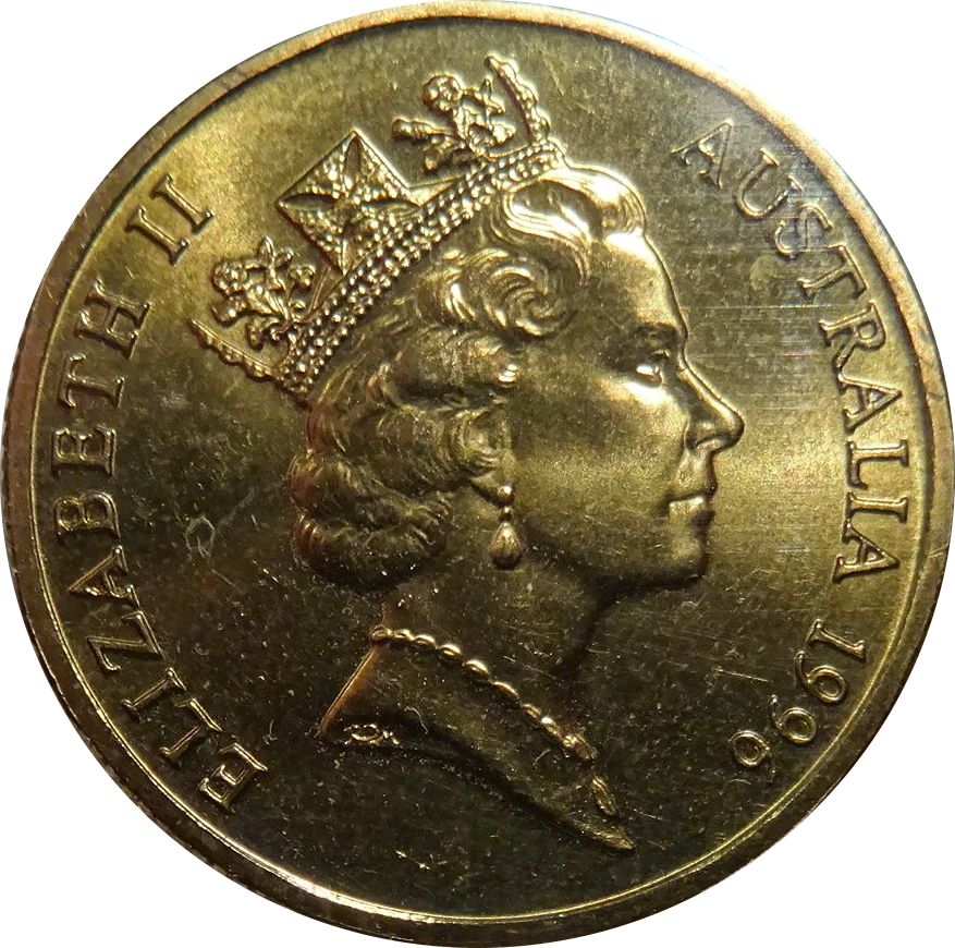 1 Dollar Elizabeth Ii Father Of Federation