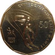 50 Cents - Elizabeth II (Basketball) -  reverse