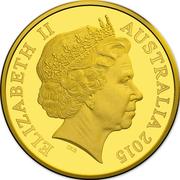 10 Dollars - Elizabeth II (4th Portrait - 100th Anniversary of the Gallipoli Landing - Gold Proof) -  obverse