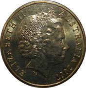 1 Dollar - Elizabeth II (4th Portrait - Australian Peacekeeping) -  obverse