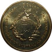1 Dollar - Elizabeth II (4th Portrait - Australian Peacekeeping) -  reverse