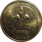 1 Dollar - Elizabeth II (4th Portrait - Scouting) -  reverse