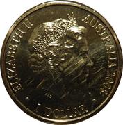1 Dollar - Elizabeth II (4th Portrait - Year of the Rat) -  obverse