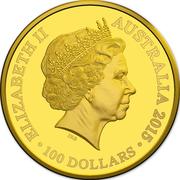 100 Dollars - Elizabeth II (Longest-Reigning Commonwealth Monarch) 2015 -  obverse