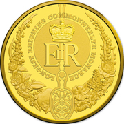 100 Dollars - Elizabeth II (4th Portrait - Longest-Reigning Commonwealth Monarch - Gold Bullion Coin) -  reverse