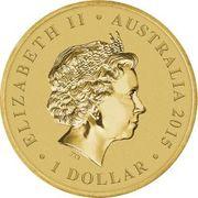 1 Dollar - Elizabeth II (Christmas 2013) -  obverse