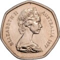 1 Dollar - Elizabeth II (2nd Portrait - Imperial Lion Test Coin) -  obverse