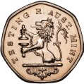 1 Dollar - Elizabeth II (2nd Portrait - Imperial Lion Test Coin) -  reverse