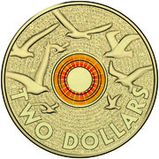 "2 Dollars - Elizabeth II (Remembrance Day - ""In Flanders Fields"") -  reverse"