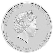 50 Cents - Elizabeth II (Battle of the Coral Sea) – obverse