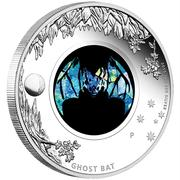 1 Dollar - Elizabeth II (Ghost Bat) -  reverse