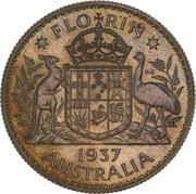 1 Florin - Edward VIII (Pattern) -  reverse