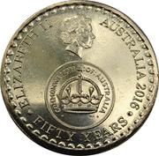 2 Dollars - Elizabeth II (50th Anniversary of Decimal Currency) -  obverse