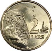 2 Dollars - Elizabeth II (50th Anniversary of Decimal Currency) -  reverse