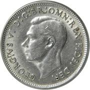 "1 Shilling - George VI (without ""IND:IMP"") -  obverse"