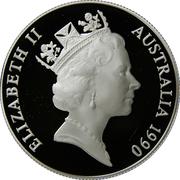 10 Dollars - Elizabeth II (Cockatoo) -  obverse
