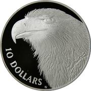 10 Dollars - Elizabeth II (Eagle) -  reverse