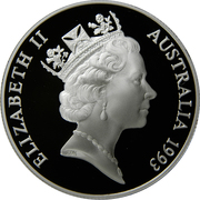 10 Dollars - Elizabeth II (Palm Cockadoo UNEP) -  obverse