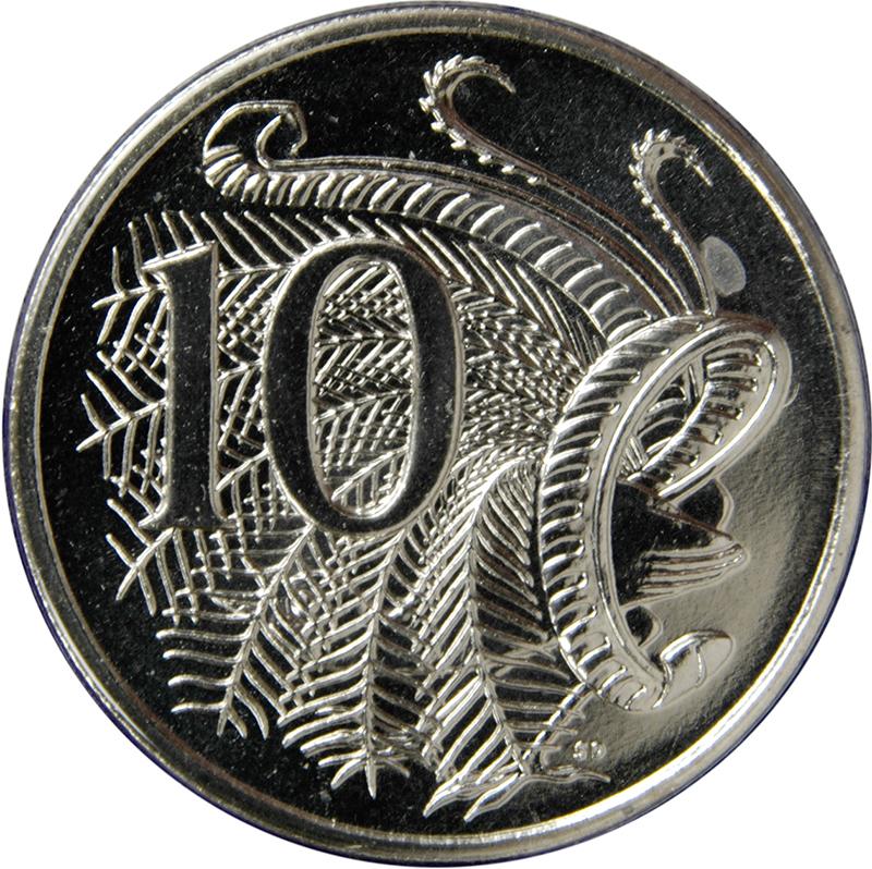 10 Cents - Elizabeth II (4th Portrait) - Australia – Numista