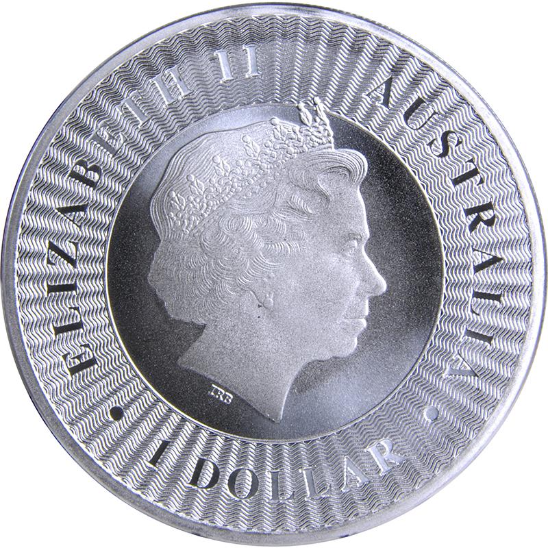 2016 1 oz THE AUSTRALIAN KANGAROO SILVER COIN .9999 $1 DOLLAR AUSTRALIA