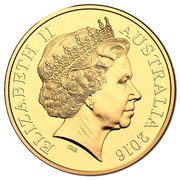 50 Cents - Elizabeth II (50th Anniversary of Decimal Currency) -  obverse
