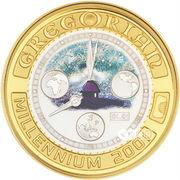 20 Dollars - Elizabeth II (Gregorian Millennium) -  reverse