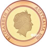 10 Dollars - Elizabeth II (4th Portrait - Millennium - The Future) -  obverse