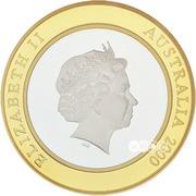 10 Dollars - Elizabeth II (Millennium) -  obverse