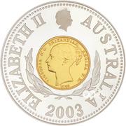 10 Dollars - Elizabeth II (Sydney Mint Sovereign) -  obverse