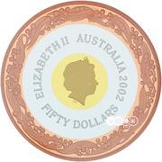 50 Dollars - Elizabeth II (Commonwealth Games 2002) -  obverse