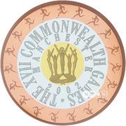 50 Dollars - Elizabeth II (Commonwealth Games 2002) -  reverse