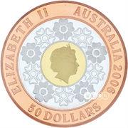 50 Dollars - Elizabeth II (Commonwealth Games 2006) -  obverse
